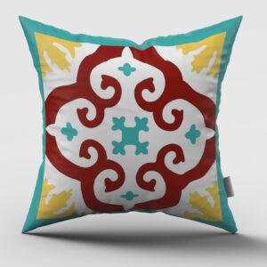 Maltese Tile Cushion Type 08